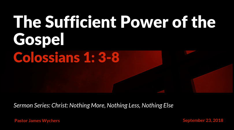 The Sufficient Power of the Gospel(1)-min