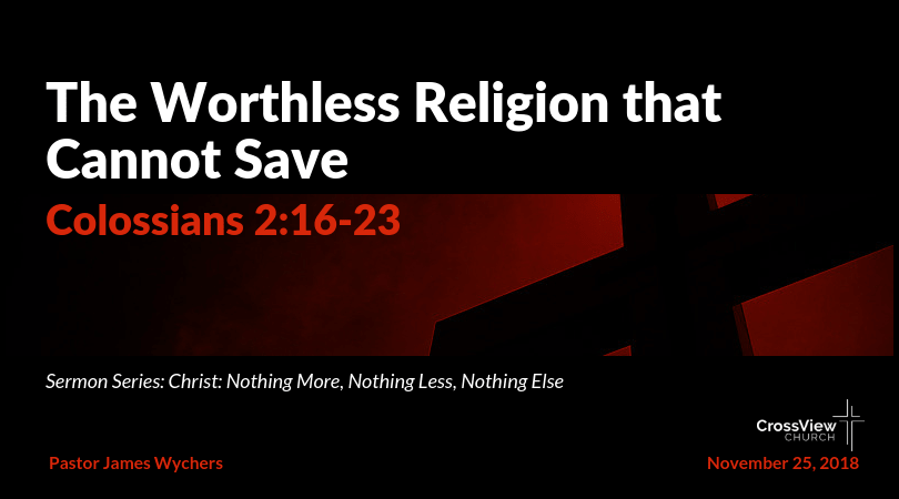 The Worthless Religion that Cannot Save-min
