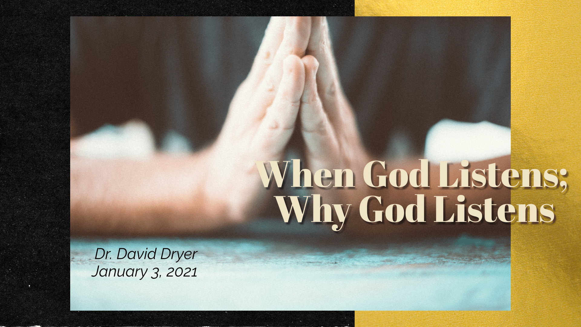 When God Listens; Why God Listens_compressed