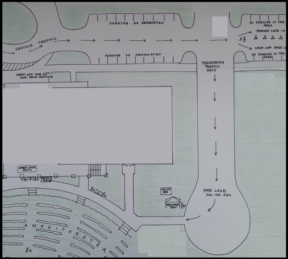 Amphitheater Reopening Map