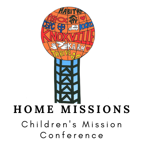 Childrens missions conference home missions logo