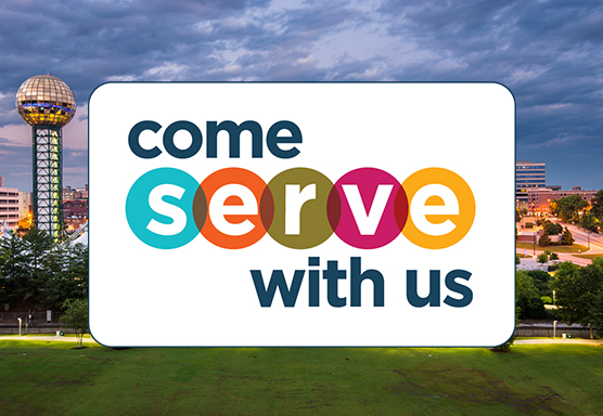Come Serve With Us