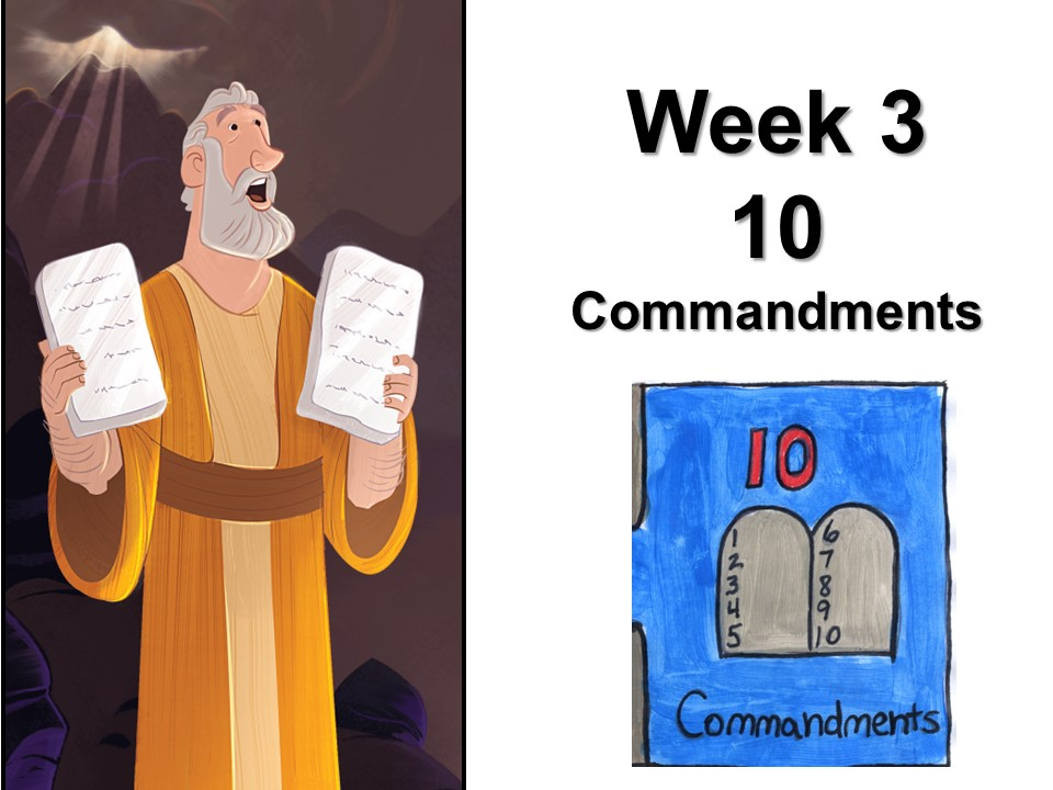KSG Week 3 the 10 Commands image