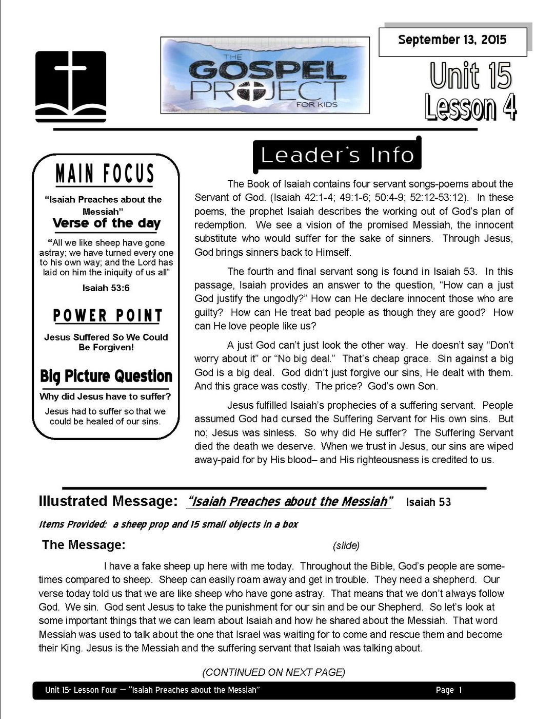 Lead U15- L4-page 1-Isaiah and the Messiah