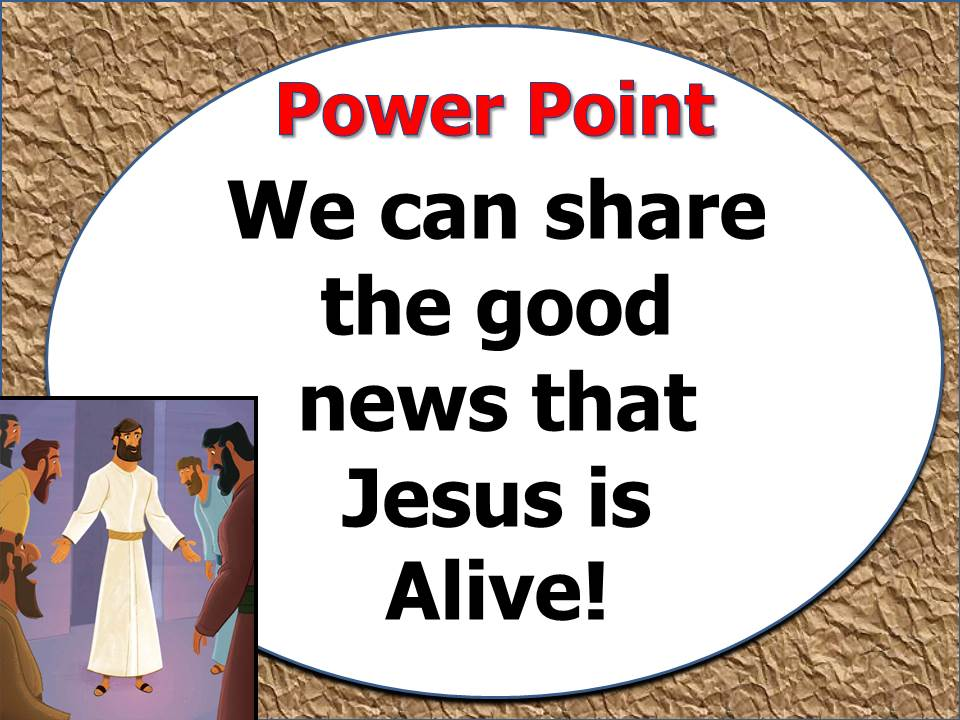Power Point U33 L2 - Jesus Appeared to His Disciples