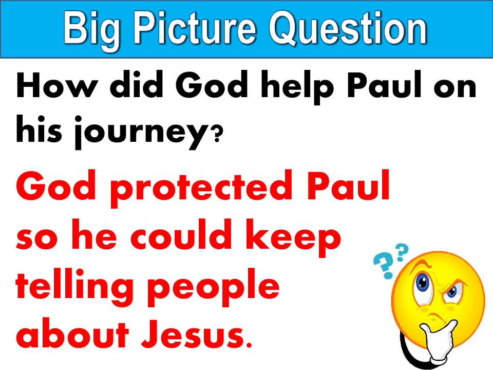 U35 L6 - Paul's Ministry to Rome - Big Picture Question