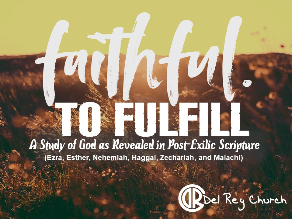 Pettiness and Purity | Faithful to Fulfill, Part 8 banner