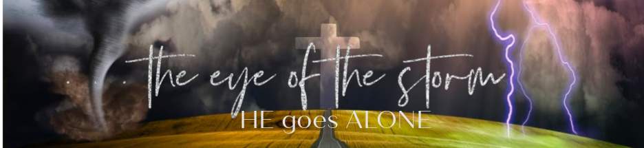 The Eye of the Storm Sermon Series banner