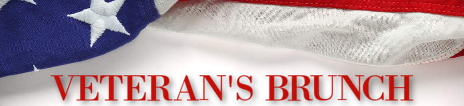 Veteran's Brunch banner