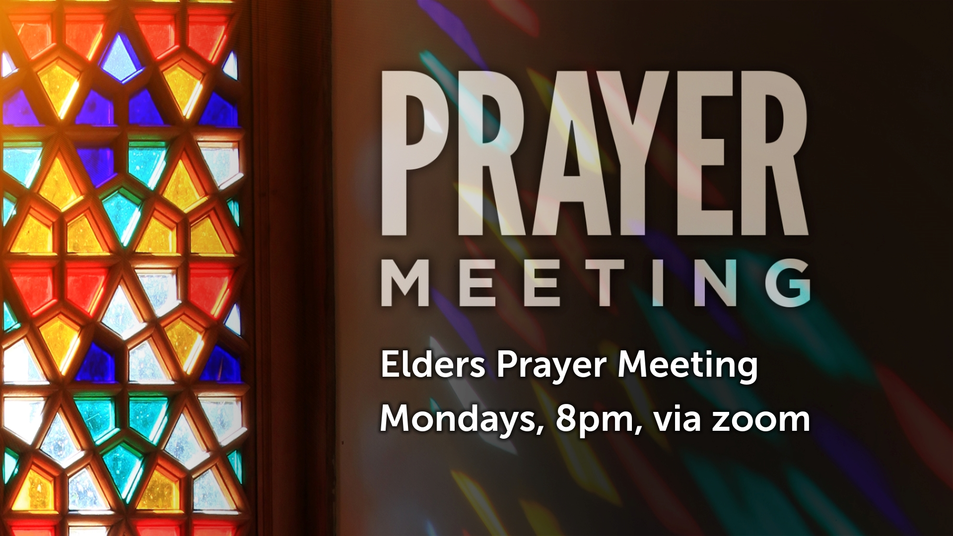 Elders Prayer Meeting image