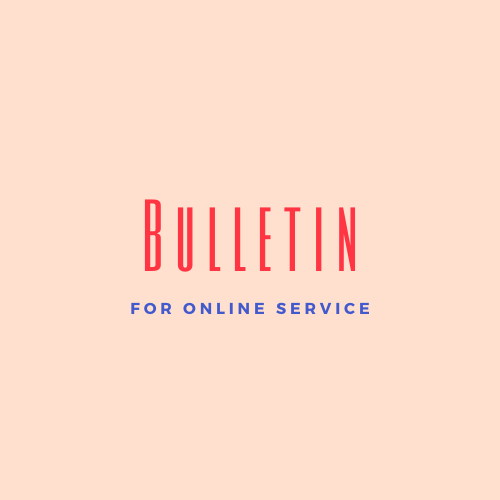 Bulletin for Live Streaming