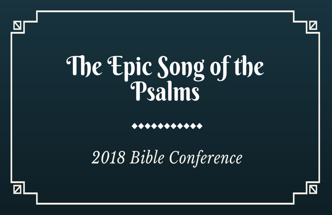 2018 Bible Conference banner
