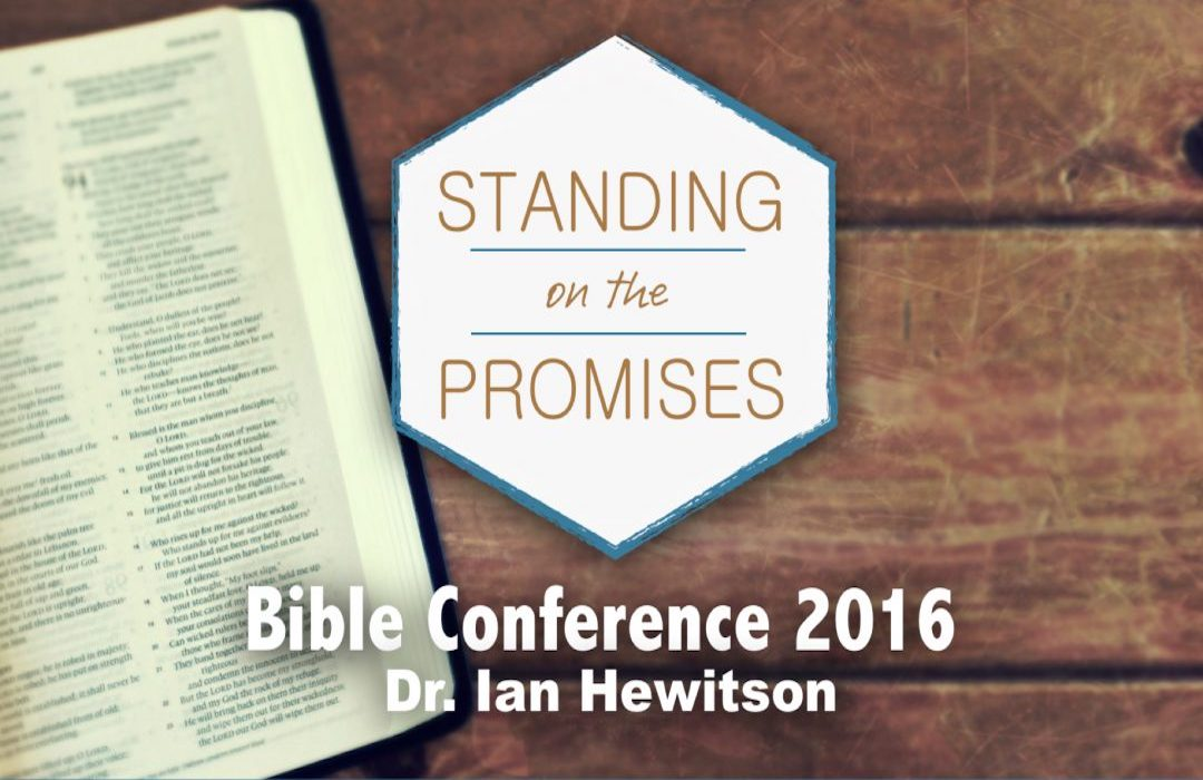2016 Bible Conference banner