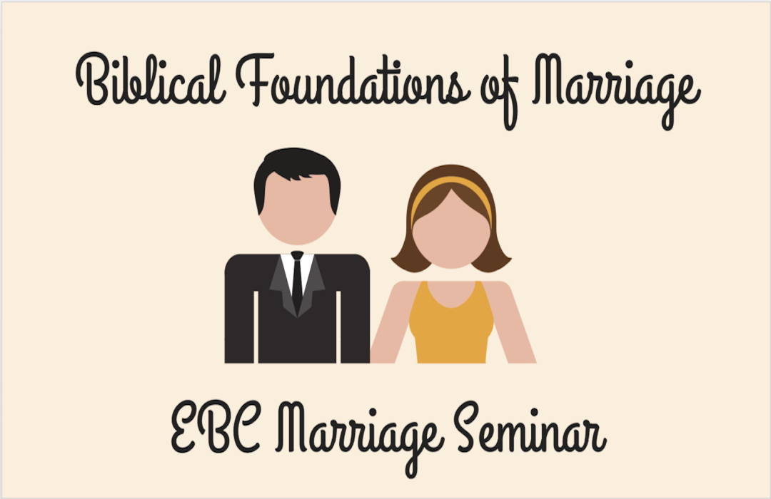 2018 Marriage Seminar banner