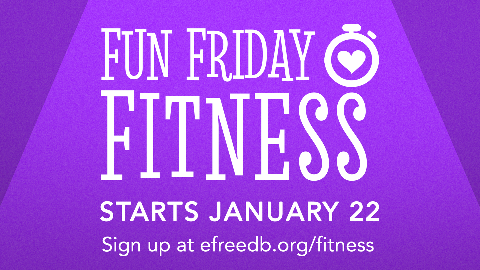 FUN FRIDAY FITNESS Facebook Event image