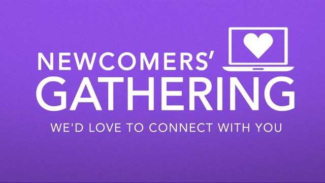 NEWCOMER'S GATHERING Facebook Event 1920x1080 image