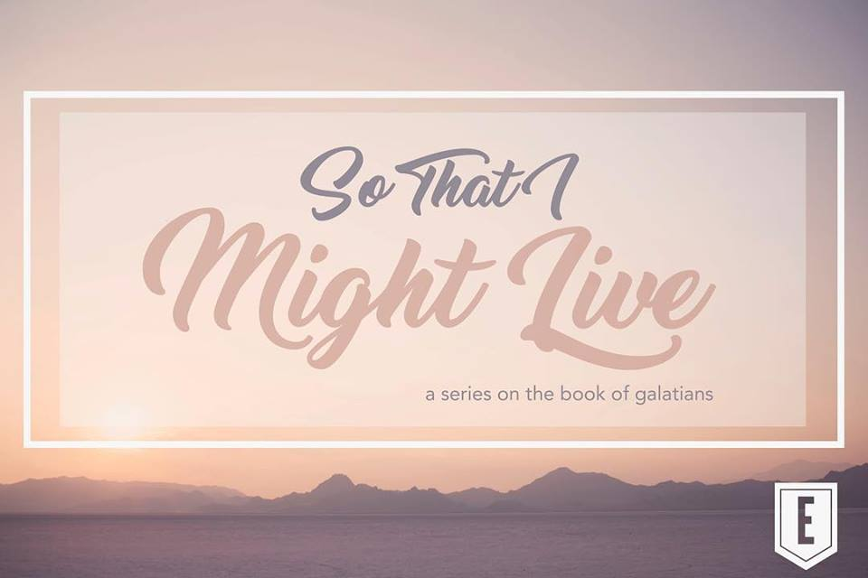 So That I Might Live banner