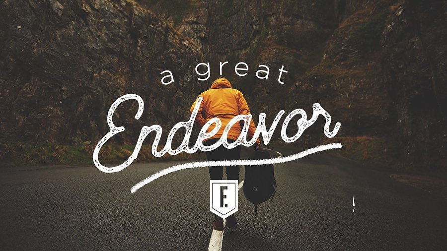 A Great Endeavor banner