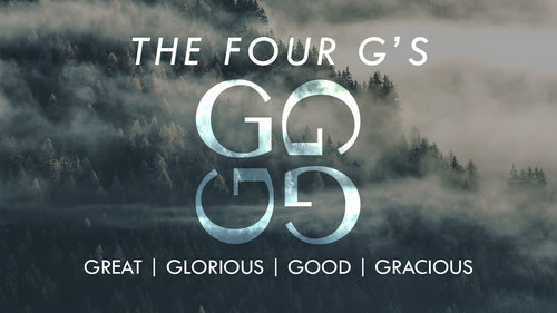 The Four G's banner
