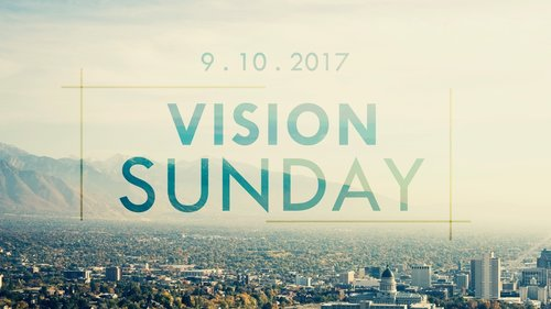 Vision Sunday banner