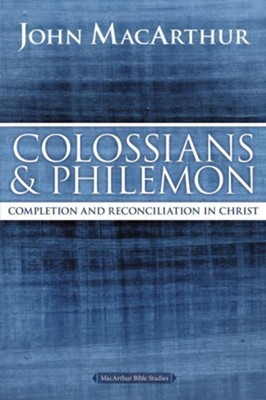 Colossians & Philemon Study Guide