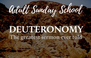 Adult Sunday School Deuteronomy image