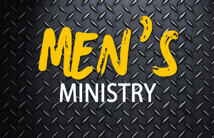 Men's Ministry diamond plate background for calendar