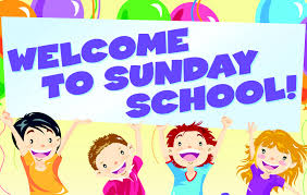 sunday school welcome