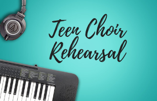 Teen Choir Rehearsal image
