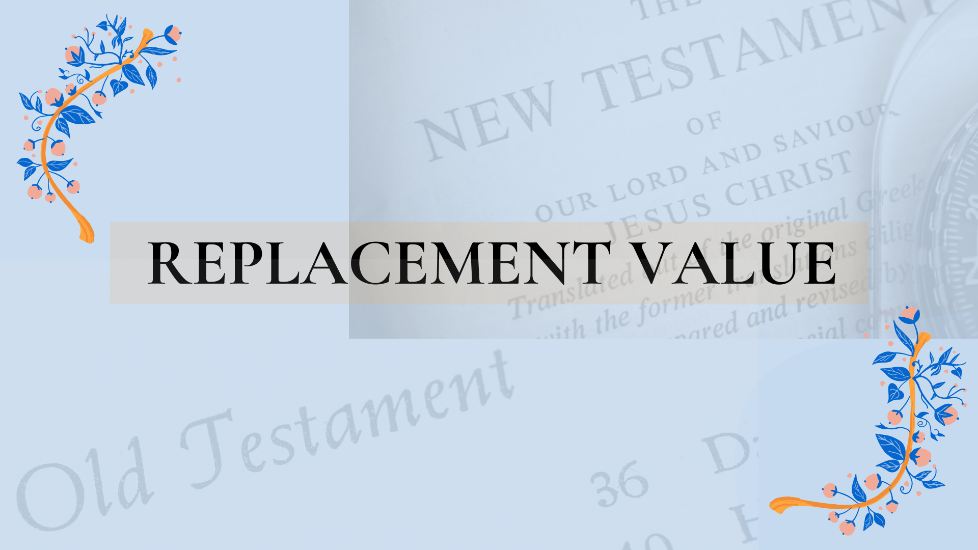 Replacement Value