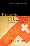 Know The Truth- A Handbook of Christian Belief Bruce Milne