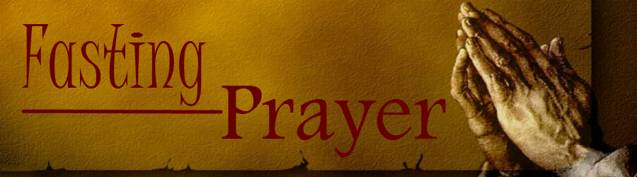 Fasting and Prayer Resources banner