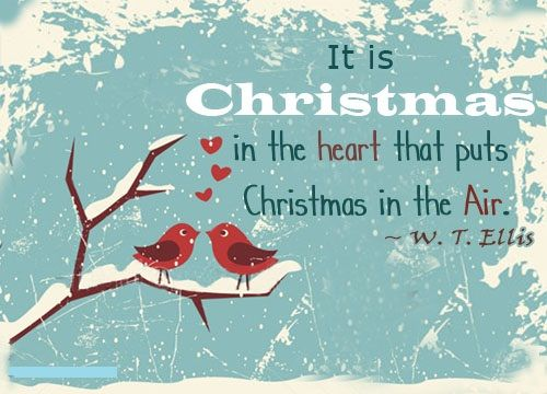 christmas is from the heart