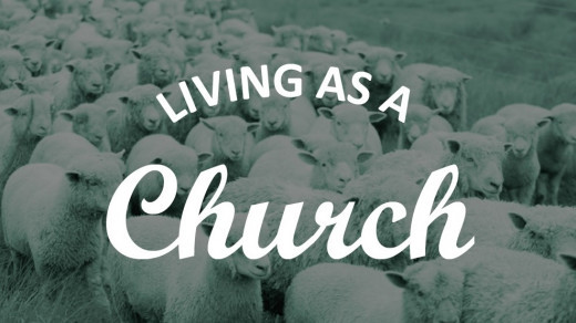 Living as a Church banner