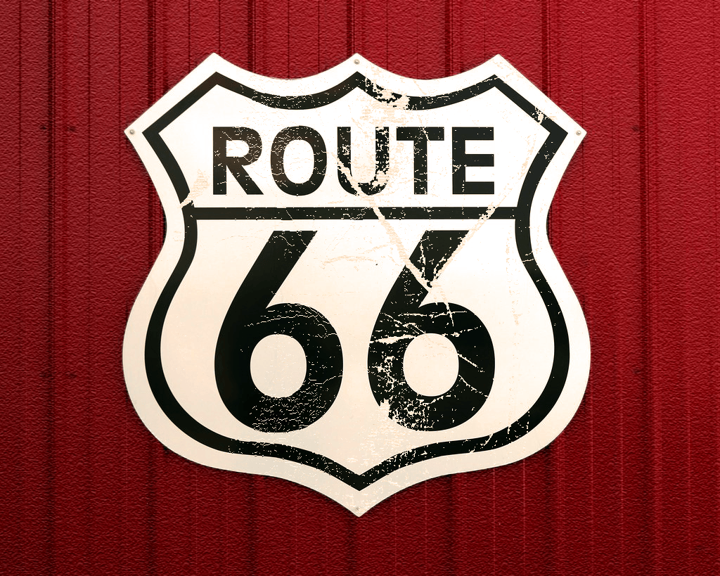 Route66_Aged