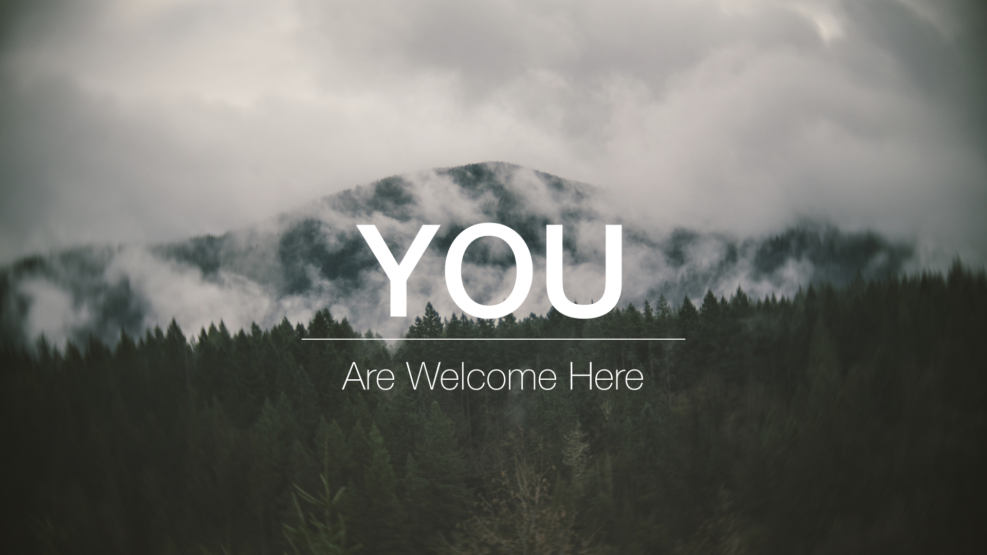 You are Welcome here.001