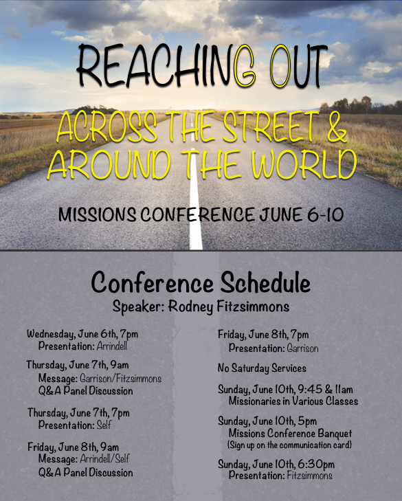 Missions Brouchure 2018
