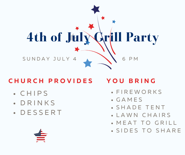4th of July Grill Party ENEWS 2