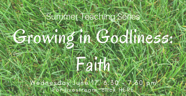 Growing in Godliness ENEWS