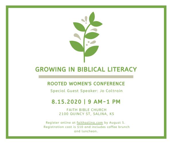Rooted 2020 women's conf enews