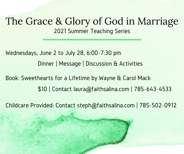 The Grace & Glory of God in Marriage ENEWS