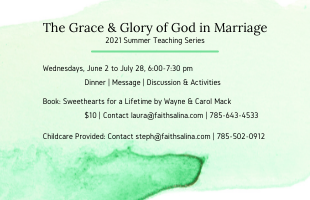The Grace & Glory of God in Marriage quicklink
