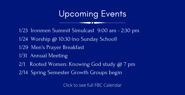 Upcoming Events ENEWS 1.24