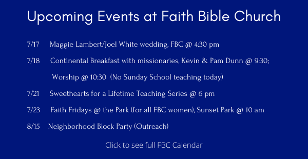 Upcoming Events ENEWS 716