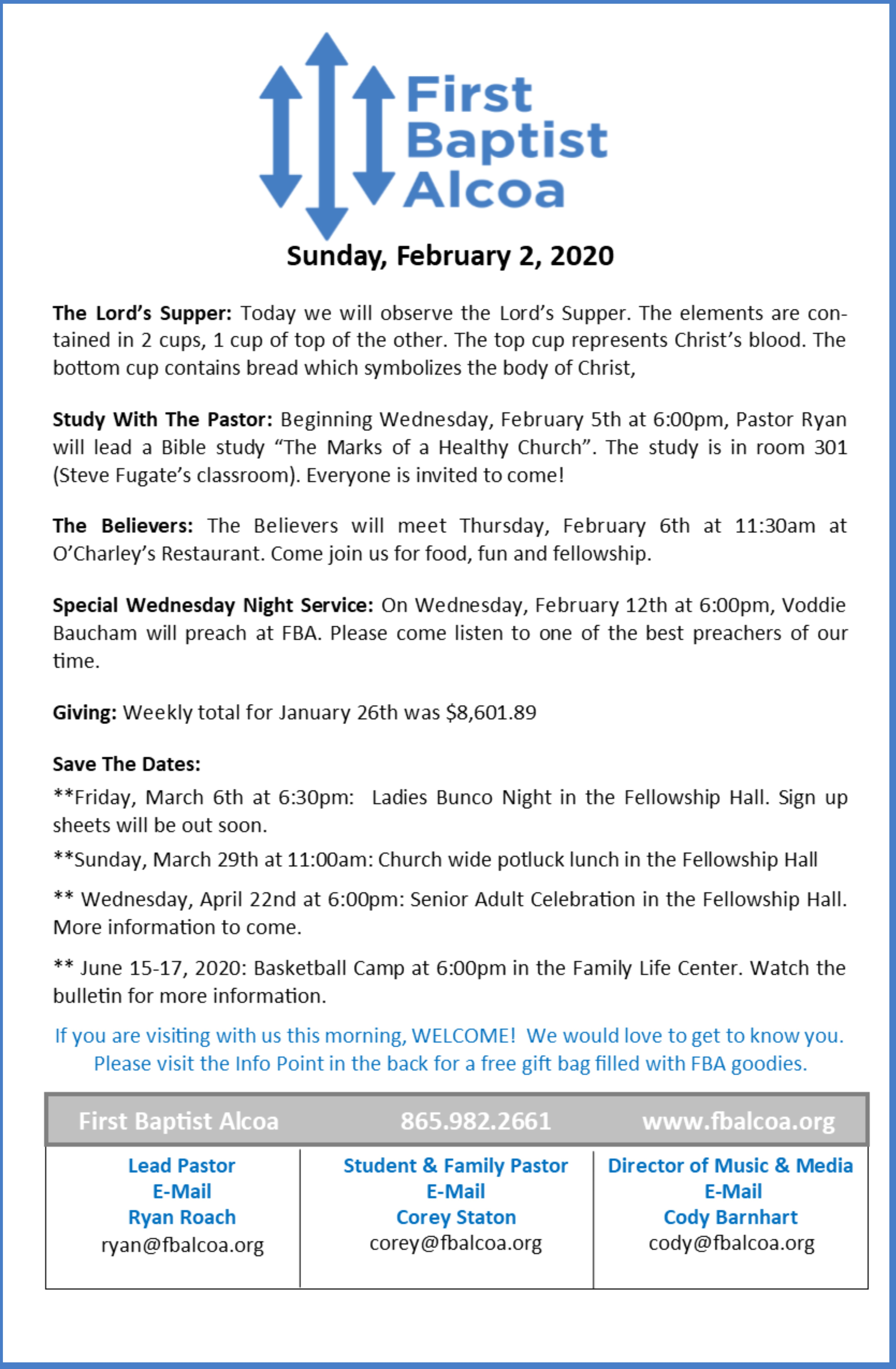 Bulletin Design Feb 2
