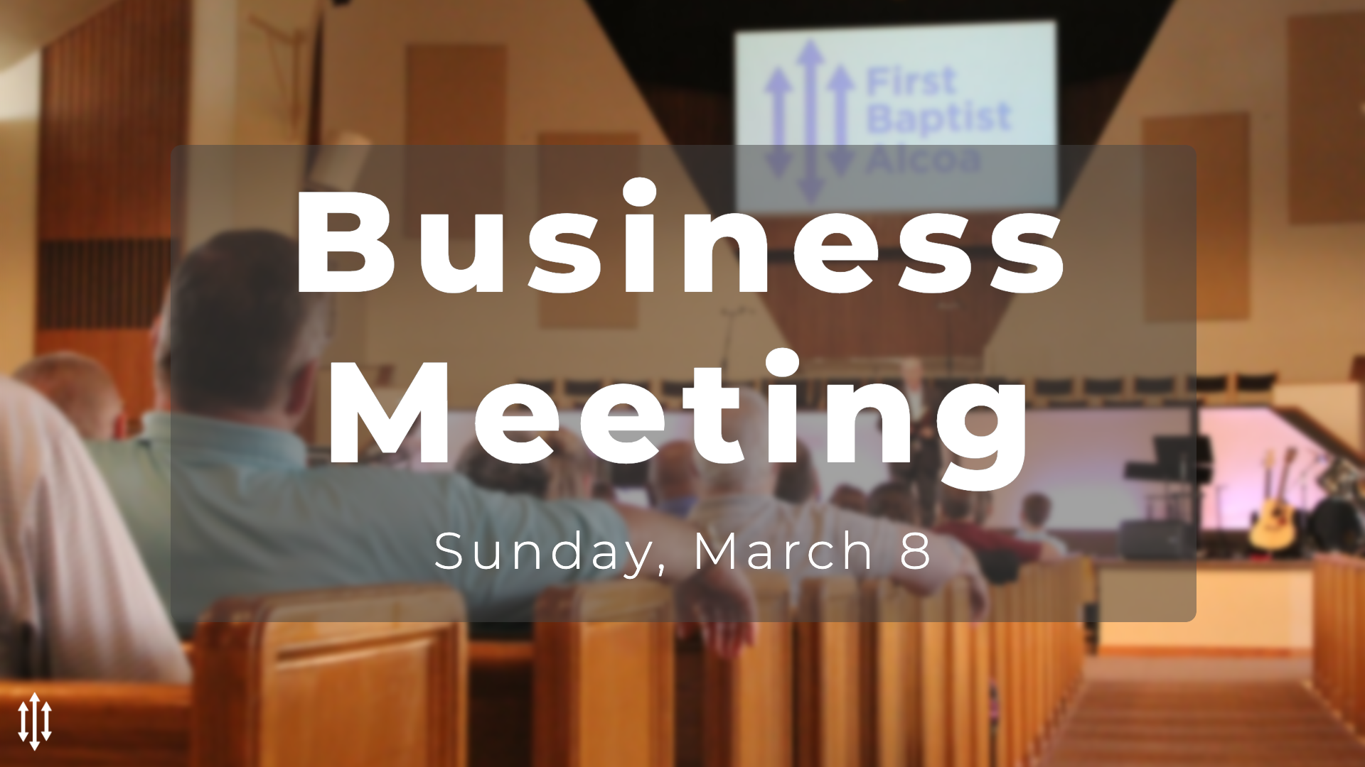 Business Meeting - March 8 image