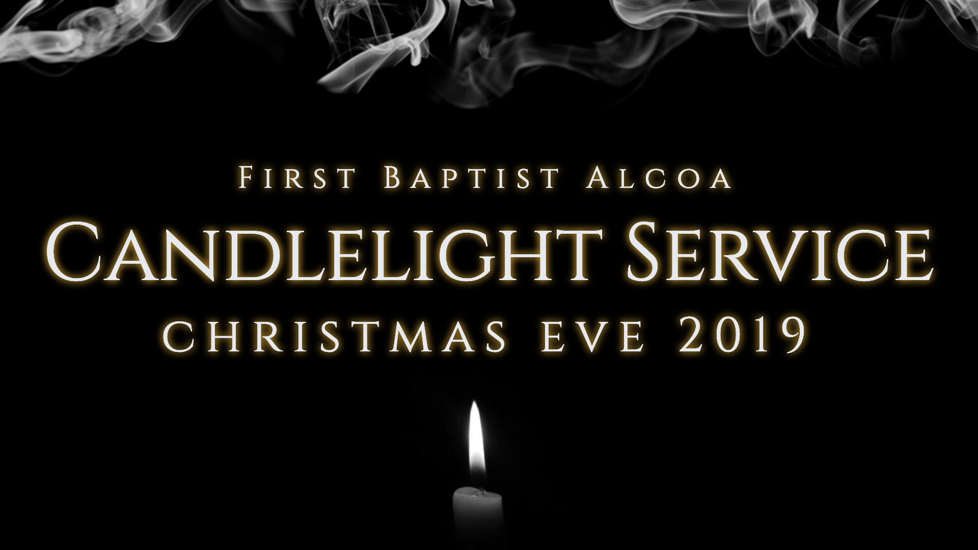 Candlelight Service 2019 BEST