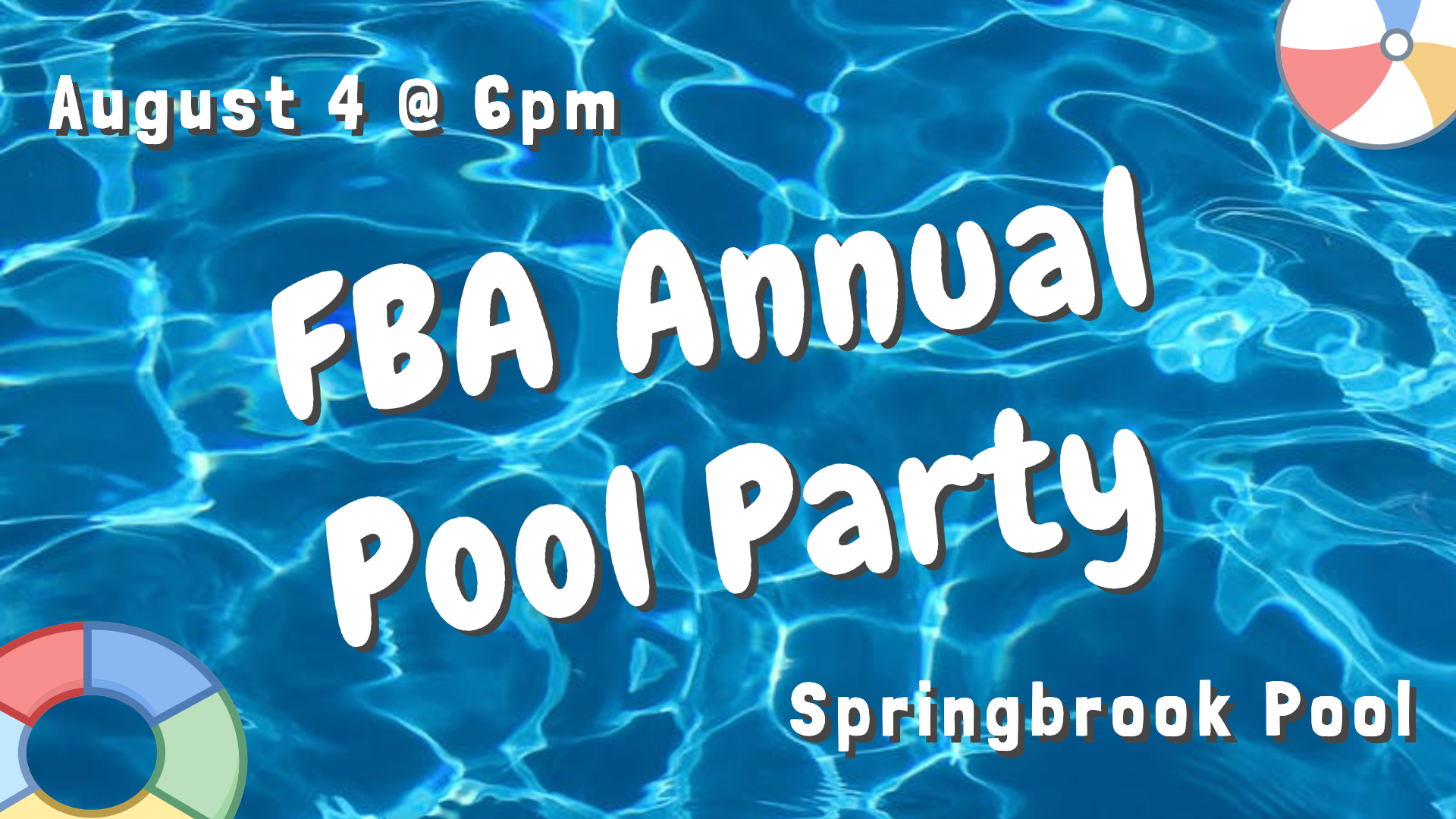 FBA Annual Pool Party 2019 image