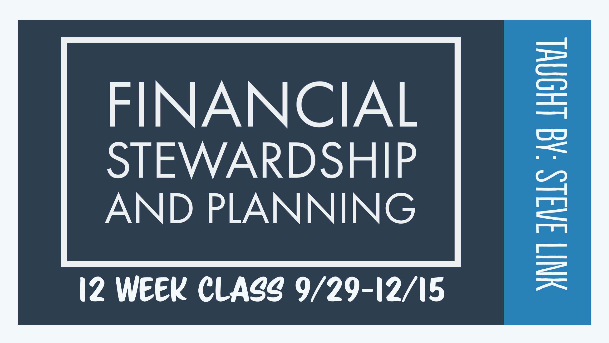 Financial Stewardship image