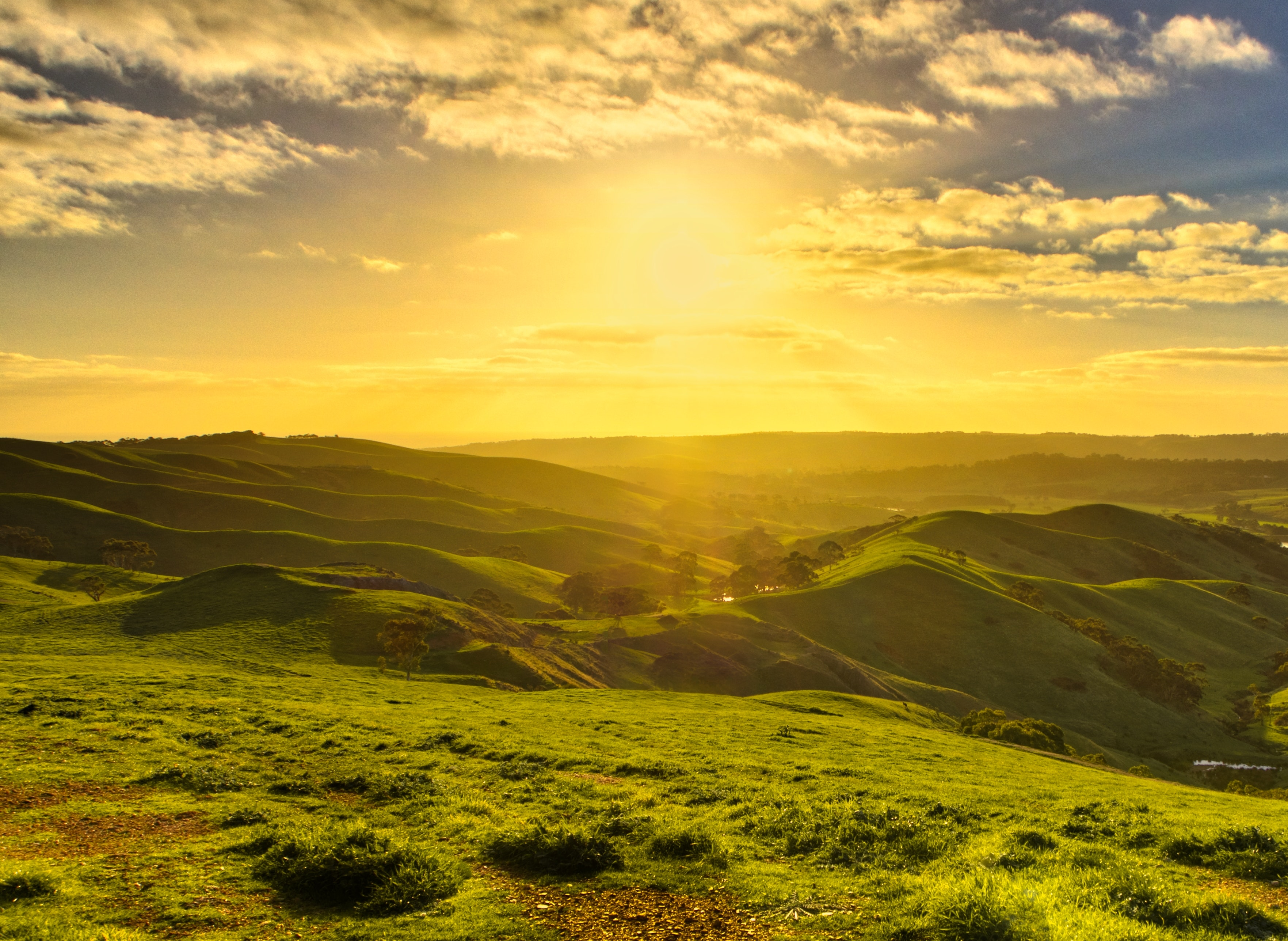 landscape-photography-of-green-mountains-910411 image